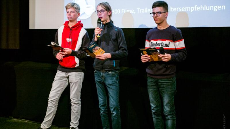 Die FBW Jugend-Filmjury bei der Vorstellung von MISSION ULJA FUNK. © Oliver Leicht